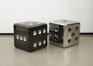 Mattia Bonetti - Dice stool/side table