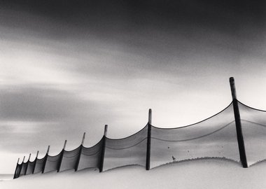 Michael Kenna - Wind-Swept Beach, Calais, France, 1999