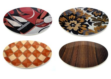 Mickalene Thomas - Set of 4 plates