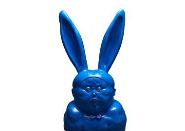Qu Guangci - The Bunny Guy -Blue