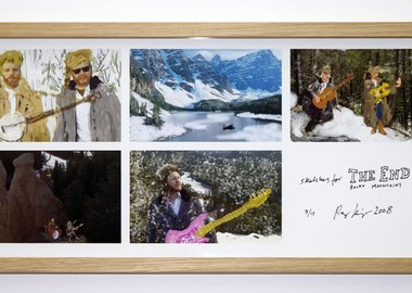 Ragnar Kjartansson - Sketches for The End Rocky Mountains