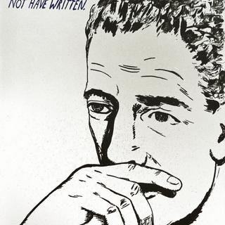 Raymond Pettibon, I See Before Me Words I Should Not Have Written