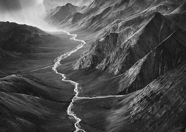 Sebastião Salgado - The Brooks Range, from the series Genesis