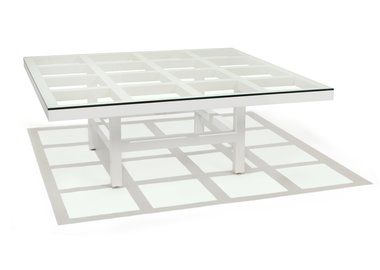 Sol LeWitt - Coffee table (White)