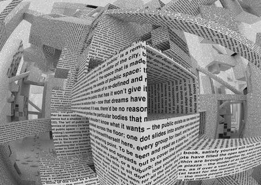 Vito Acconci - City of words