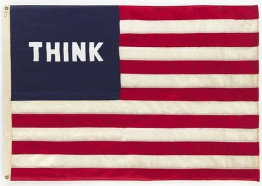William N. Copley - Think (Flag)