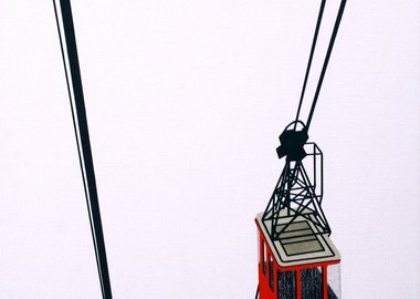 William Steiger - Aerial Tram Red