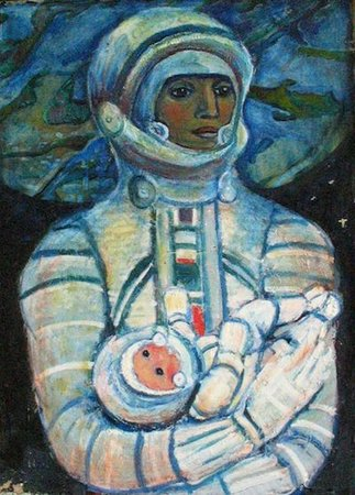 Galina Konopatskaya, Cosmic Mother (1970)