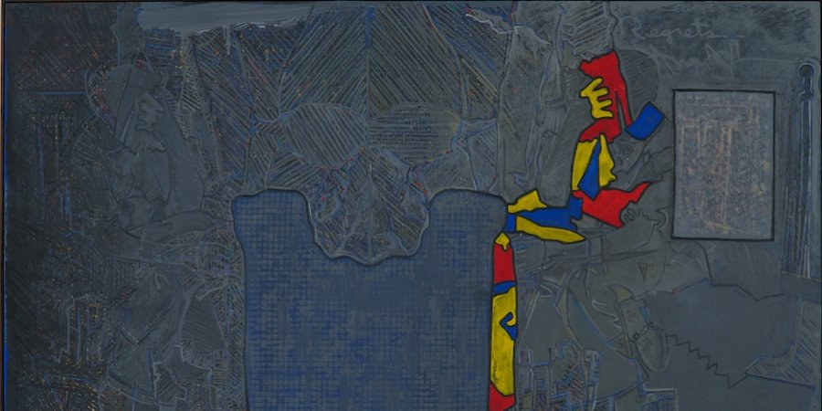 "How to Understand Jasper Johns's Haunting ""Regrets"" at MoMA"