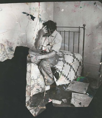 Photograph of Lucian Freud by John Deakin