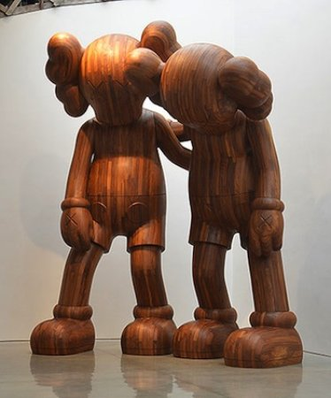 KAWS along the way at Mary Boone