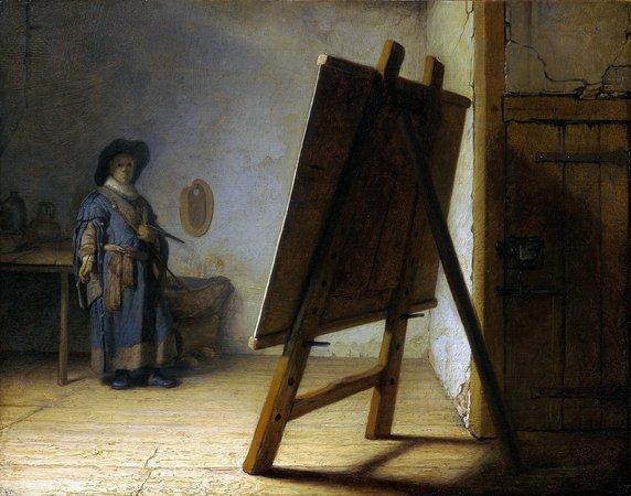 The Evolution of the Artist's Studio, From Renaissance