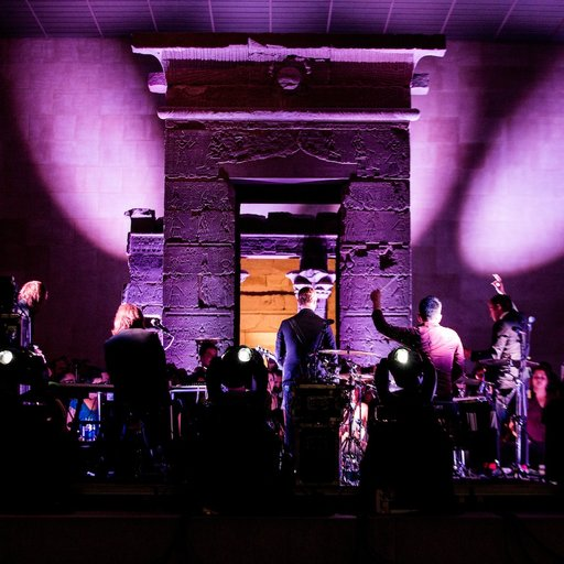Rock Like an Egyptian: Interpol Plays the Met's Temple of Dendur