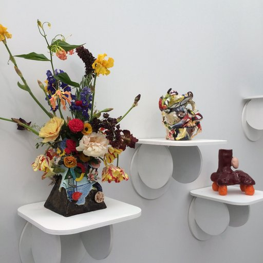 High on Pots: Outlandish Ceramics Electrify Frieze New York 2015