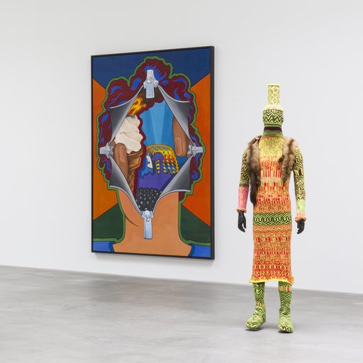 "A Golden Era of Underground Art Gets Its Freak On in ""What Nerve!"" at Matthew Marks"