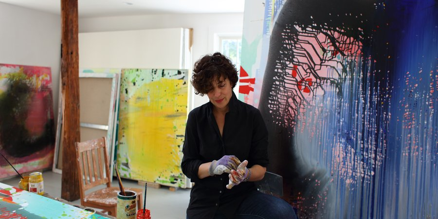 Painter Jackie Saccoccio on Her Endlessly Regenerating Abstract Portraits