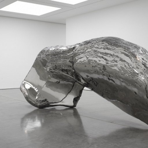 At White Cube, Sculptor Marc Quinn Turns Over a Thoughtful New Leaf