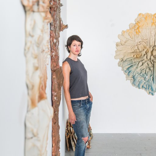 Full-Contact Ceramics: Sculptor Brie Ruais on Wrestling Conceptual Statements From Mountains of Clay