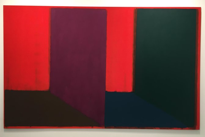 John Hoyland at Frieze London