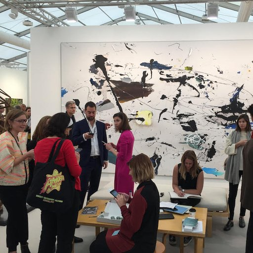 50 Stylish Paintings at Frieze London 2015