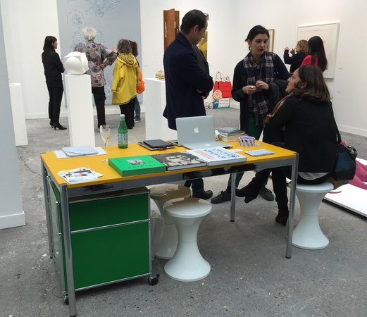 Table at Air de Paris at FIAC