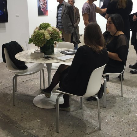 Table at Luhring Augustine FIAC