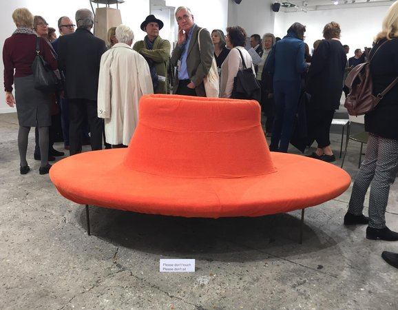 Franz West no sit at Presenhuber FIAC