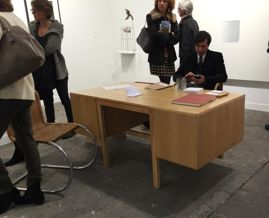 Marce Breuer table at Elvira Gonzalez FIAC
