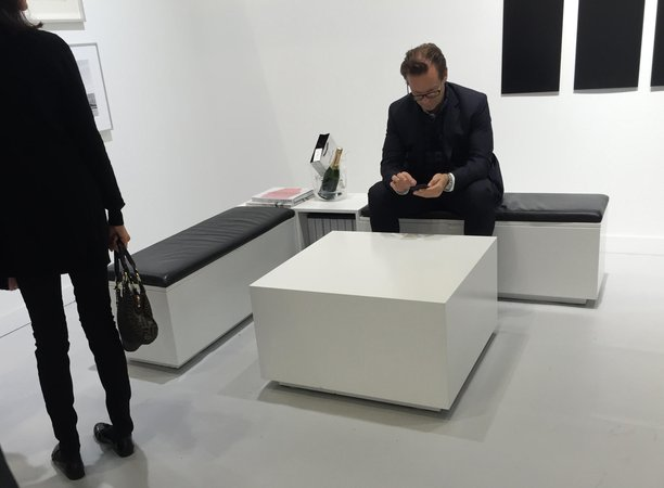 Furniture at Thomas Zander FIAC