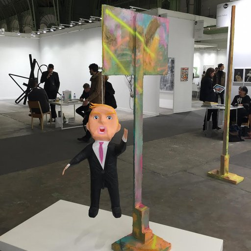 Political Art Enlivens FIAC 2015