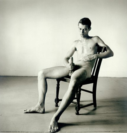 Seated Male Nude Peter Hujar