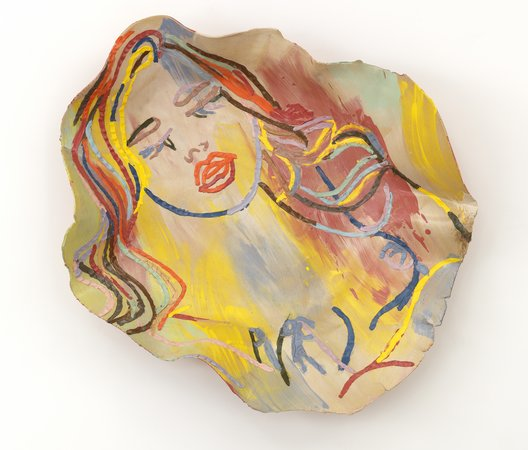 Ghada Amer The Sleeping Girl