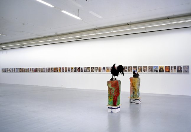 Installation View, Migros Museum, Zurich, 2007 Courtesy of the artist and Greene Naftali, New York
