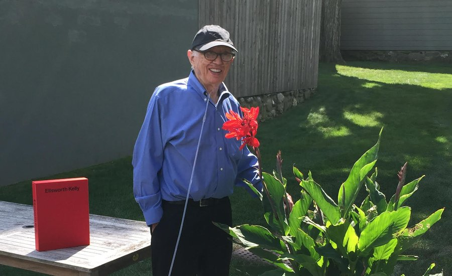 Ellsworth Kelly on How He Draws Inspiration From Nature for His Art