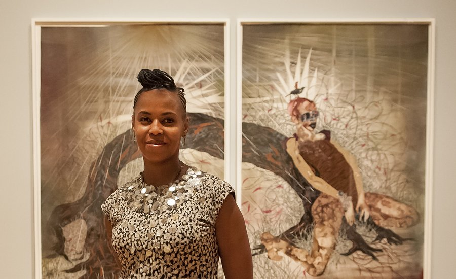 """They Eat Because You Grow the Food"": Wangechi Mutu's Words of Wisdom for Struggling Artists"
