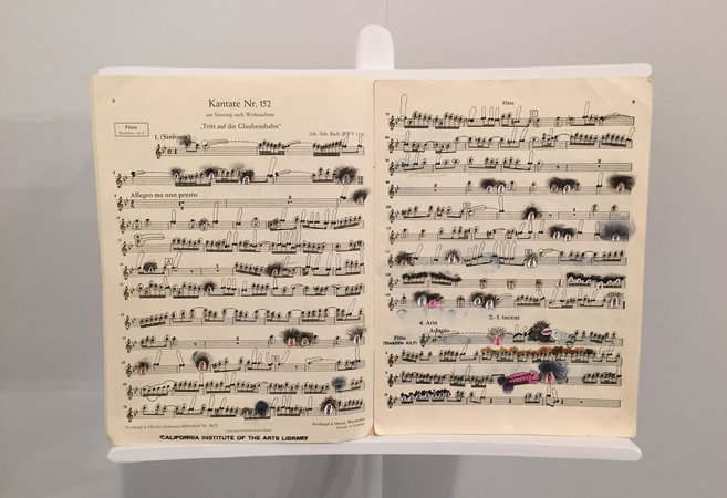 Ana Prvacki Music Stand and Score 2015 at 1301PE