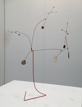 Alexander Calder at Venus Over Manhattan