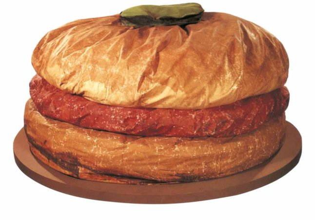 Claes Oldenburg Giant Hamburger