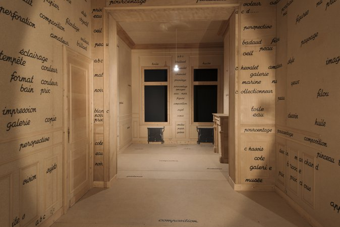 Marcel Broodthaers MoMA installation view 4