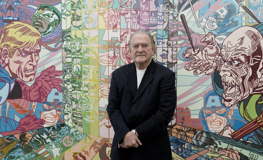 "Have You Heard of the Lichtenstein of Iceland? An Afternoon With Erró, Nordic Painter of the ""Pop Baroque"""
