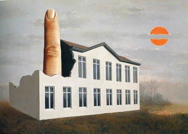 Rene Magritte The Revelation of the Present