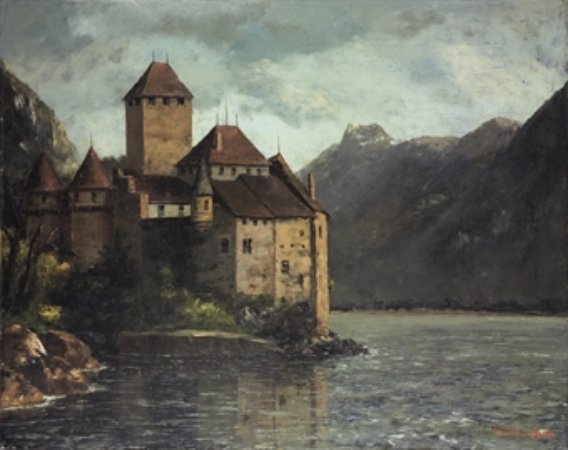 Gustave Courbet Chateau de Chillon