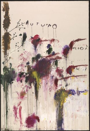 Cy Twombly Quattro Stagioni: Autunno