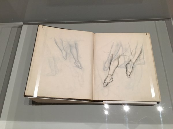 Degas sketchbook