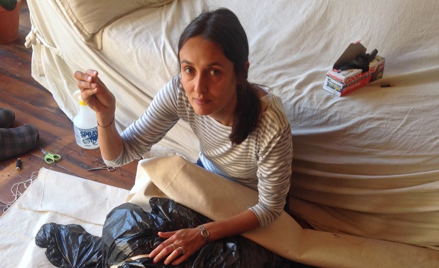 A Few Questions for Fanny Allié, Brooklyn's Premiere Trash-Bag Sculptor