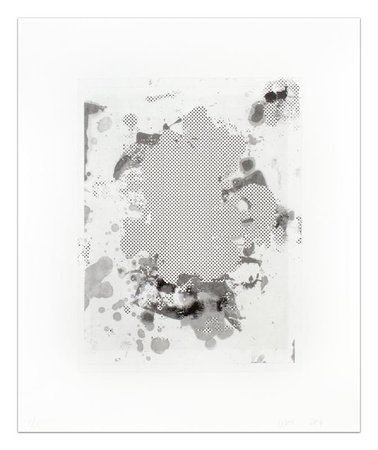 CHRISTOPHER WOOL Portraits (b/w), 2014