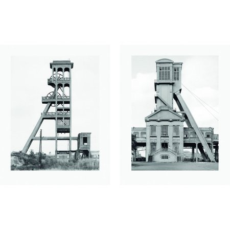 Bernd and Hilla Becher Two Winding Towers