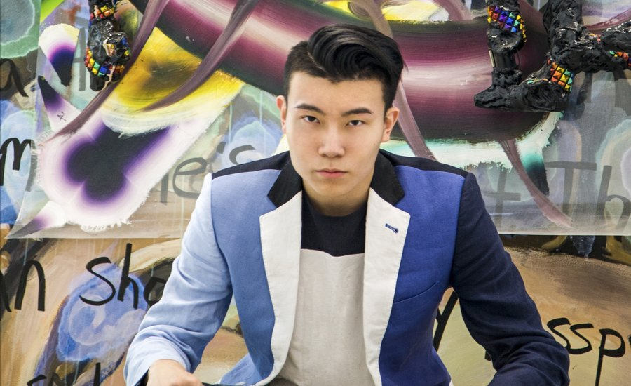 "Meet Michael Xufu Huang, the 22-Year-Old Museum Co-Founder Who's Building ""The MoMA of China"""