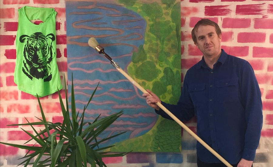 Tyson Reeder on Turning the Art World Askew Through Drunk Sports, Fuzzy Paintings, and Funny Fairs