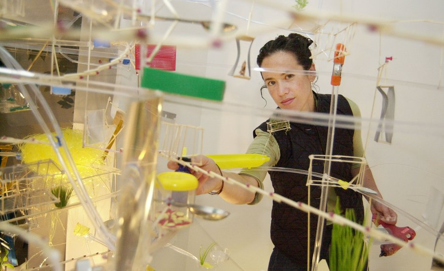 Sarah Sze on Why She Had to Invent a New Way of Making Sculpture